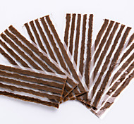 cheap -Bike Motorcycle Car Tubeless Tire Quick Repair Strips - Brown (30PCS)