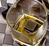 1pc Natural Whiskey Stones Sipping Ice Cube Wine Champagne Whisky Rock Cooler Bar Alcohol Beer Wedding Gift