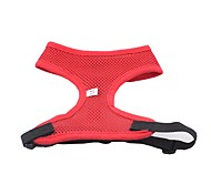 Dog Harness Dog Clothes Waterproof Fashion Solid Yellow Red Green Blue Pink Costume For Pets