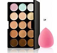 cheap -The New Hot Special Professional Makeup Base Palettes Cosmetic 15 COLOR Concealer Facial Face Cream Care Camouflage