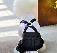 Собака смокинг Одежда для собак Свадьба Новый год Английский