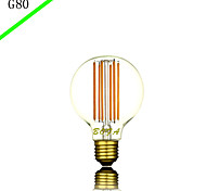bofa g80 6 w führte neues design führte dekorative Beleuchtung Glühbirnen Glühbirnen (85v-265v)