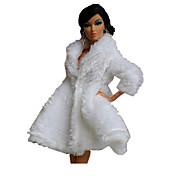 Недорогие -Вечеринка Платья Для Кукла Барби Верхняя часть Для Девичий игрушки куклы