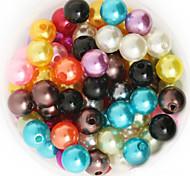 Недорогие -beadia 92g (около 200шт) абс жемчуг 10мм круглые 15 цветов U-выбор пластиковых свободные шарики DIY аксессуары ювелирные изделия