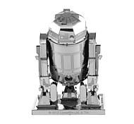 Недорогие -Робот 3D пазлы Пазлы Металлические пазлы Наборы для моделирования Машина Робот 3D Металлический сплав Металл Детские Подарок