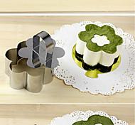 Недорогие -торт Cutter Цветы Торты Хлеб Нержавеющая сталь Новый год Высокое качество