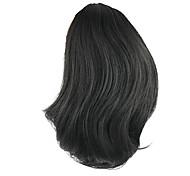 Недорогие -Естественные волны Конские хвостики синтетика Волосы Наращивание волос Черный