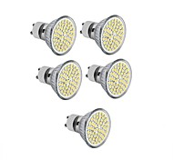 cheap -5pcs 3.5W 300-350 lm GU10 GU5.3(MR16) E26/E27 LED Spotlight MR16 60 leds SMD 2835 Decorative Warm White Cold White AC 110-130V DC 12V AC