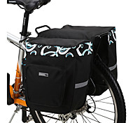 Bike Bag 30LPanniers & Rack Trunk Waterproof Wearable Shockproof Bicycle Bag Mesh 600D Polyester Cycle Bag