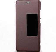 Original View Window Case PU Leather Flip Case For Huawei P9/P8/P7