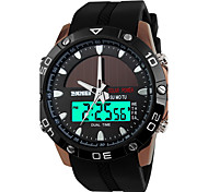 cheap -SKMEI Men's Quartz Digital Japanese Quartz Digital Watch Sport Watch Alarm Calendar / date / day Water Resistant / Water Proof Solar