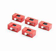 cheap -YS4 1-digit DIP Switch - Red + White (5 PCS)