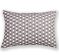 cheap -Knitted Love Heart Cushion Cover-Grey