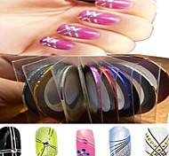 1шт 1мм 20m украшения ногтей искусство полоса ленты линия стикер искусства ногтя красотки инструменты nc124 случайная поставка