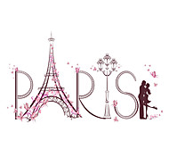 cheap -Landscape People Animals Romance Fashion Shapes Fantasy Architecture Botanical Cartoon Words & Quotes Holiday Wall Stickers Plane Wall