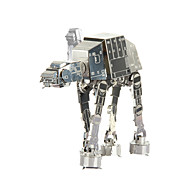 cheap -3D Puzzles Jigsaw Puzzle Metal Puzzles Imperial Walker DIY Metal Gift