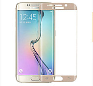 cheap -ZXD 9H 3D Full Curved Screen Protector Tempered Glass Film for Samsung Galaxy S6 edge