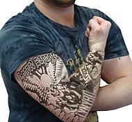 braccio tatuaggio scaldini maniche 2016 nuovo arrivo bracciale ciclismo scalda sole traspirabilità bicicletta elastico (1 pz)