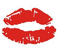 сексуальные губы автомобиля наклейку
