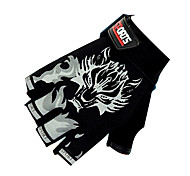 Недорогие -SANTIC Спортивные перчатки Перчатки для велосипедистов Дышащий Без пальцев Велосипедный спорт / Велоспорт Муж. Жен. Универсальные