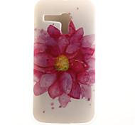 Flower Face Painting Pattern TPU Soft Case for Motorola Moto G XT1028/XT1031/XT1032