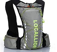 Недорогие -10LLВелоспорт Рюкзак рюкзак для Спорт в свободное время Путешествия Бег Спортивные сумки Пригодно для носки Со светоотражающими полосками