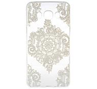 White Flower Corners Pattern TPU Soft Case Phone Case for Samsung Galaxy J5(2016)