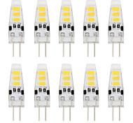 2W G4 Двухштырьковые LED лампы T 6 светодиоды SMD 5733 Декоративная Тёплый белый Холодный белый 150-200lm 3000/6000K DC 12V