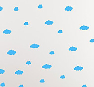 4039 Clouds Vinyl Wall Decals DIY Decorative Children's White Colorful Wall Sticker Wall Decal Perfect for Kid's Room