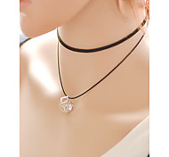 cheap -Women's Lace Choker Necklace Pendant Necklace Tattoo Choker - Tattoo Style Sexy Fashion Black Necklace For Daily Casual