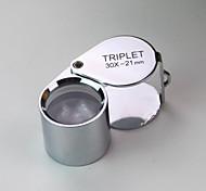Недорогие -(2 шт) высокое качество творческой водонепроницаемый 30 раз увеличительное стекло / ювелирные изделия оценка / ультрафиолетовый свет /