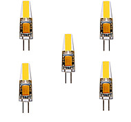 abordables -YWXLIGHT® 5pcs 5W 460 lm G4 Luces LED de Doble Pin MR11 4 leds COB Impermeable Decorativa Blanco Cálido Blanco Fresco Blanco Natural DC