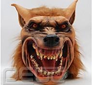 Хэллоуин латексная маска жуткая голова волка животное маска Хэллоуин косплей костюм взрослого партии маски падения