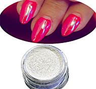 1 Set Nail Art Magical Blue Glitter Pearl Powder And Eye Shadow Brush Set Nail Beauty HCL