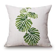 cheap -pcs Cotton/Linen Pillow Cover, Graphic Prints Still Life Casual Modern/Contemporary