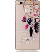 TPU + IMD Material Dreamcatcher Pattern Slim Phone Case for Huawei P9 Lite/P9/P8 Lite/Y625