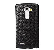 cheap -Case For LG LG K10 LG K7 LG G5 LG G4 LG Case Embossed Back Cover Geometric Pattern Hard PC for