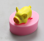 Pig Chocolate Silicone Molds,Cake Molds,Soap Molds,Decoration Tools Bakeware