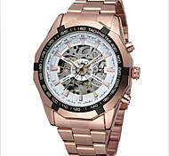 Swiss Quality Men's Fashion Casual Watch Fully Automatic Mechanical Watches Hollow Out