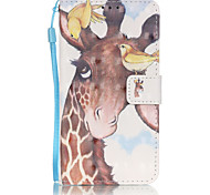PU Leather Material 3D Painting Birds Deer Pattern Phone Case for Samsung Galaxy J5/J510/J3/J310/G360/G530