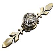 античная бронза шкаф ручка (251a большой)
