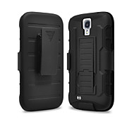 Strap Clamp Drop Resistance Armor Protective Jacket with Stand and Clip for Samsung Galaxy S4 Mini I9190