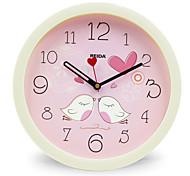 Недорогие -(Цвет случайный) 8 дюймов дети спальне милые часы мультфильма настенные часы немой круговой кварцевые часы