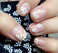 cheap -Mixed 30 Sheets Nail Sticker Beauty Floral Design Patterns Nagel Stickers Mixed Transfer Manicure Tips 3D Unhas Decals