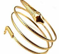 Женский Браслет цельное кольцо Двойной слой Мода Богемия Стиль обожаемый бижутерия Сплав Бижутерия Змея Бижутерия Назначение Для