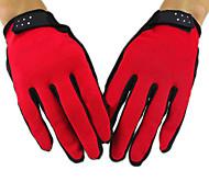Недорогие -Перчатки для велосипедистов Лыжные перчатки Муж. Жен. Сохраняет тепло С защитой от ветра холст Катание на лыжах
