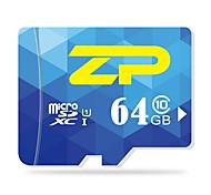 ZP 64 Гб Карточка TF Micro SD карты карта памяти UHS-I U1 Class10