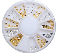 1PC Japanese Small Alloy Golden Silver Big Diamond 1  Paragraph 6 6cm In a Box Manicure Act The Role Ofing Is Tasted