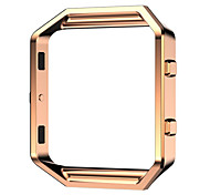 cheap -Superior Luxury Stainless Steel Watch Replace Metal Frame Watch Holder For Fitbit Blaze Smart Watch