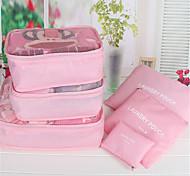 Travel Package Six Pieces Of Waterproof Underwear Bag Travel Storage